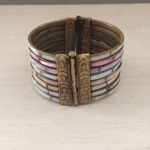Jewelry - Vintage antique multicolored bracelet